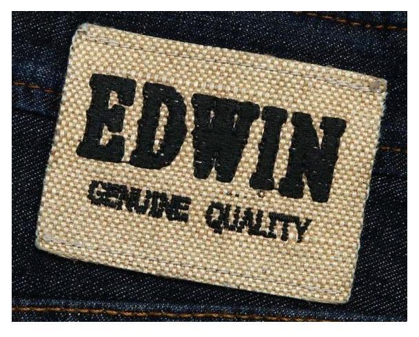 Логотип бренда Edwin- История бренда Edwin