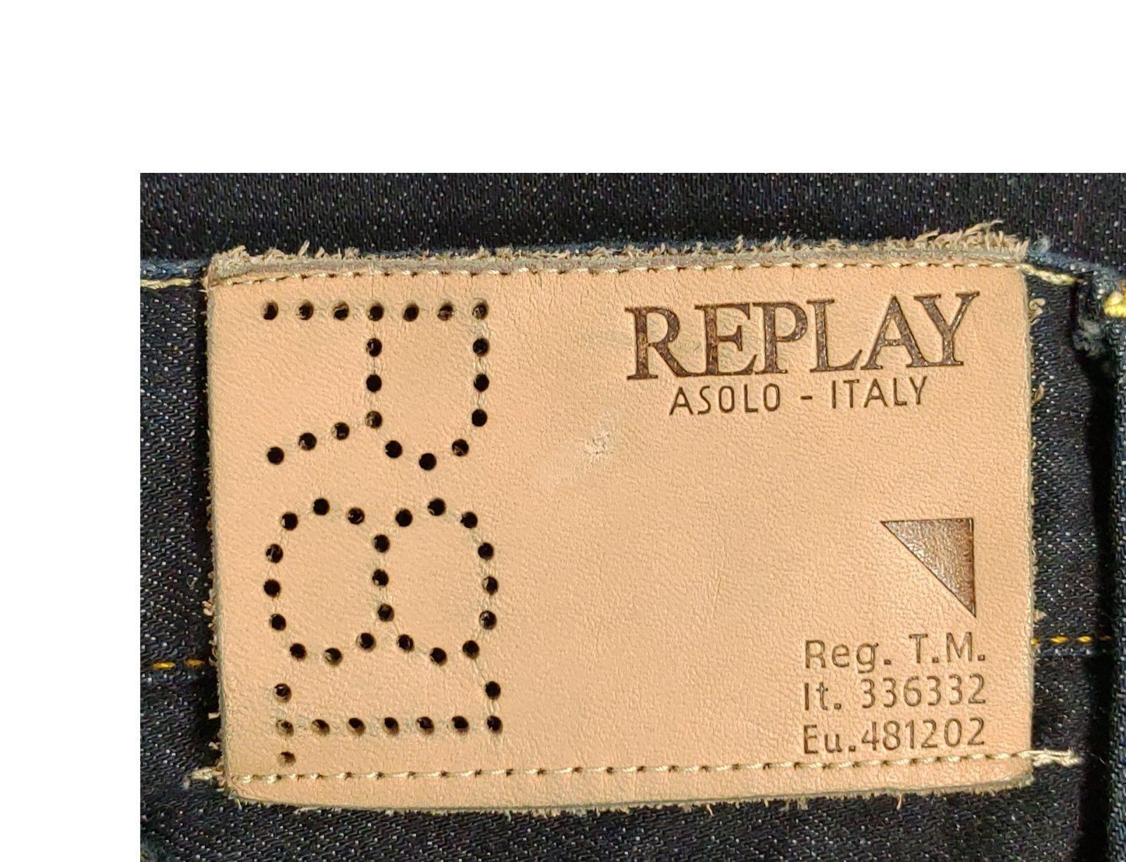Логотип бренда Replay - История бренда Replay